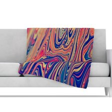 Soap and Water Microfiber Fleece Throw Blanket
