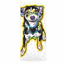 Jasper by Rebecca Fischer Graphic Art Plaque