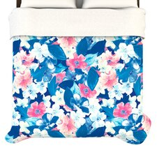 """Bloom"" Woven Comforter Duvet Cover"