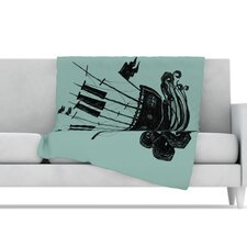Ship Microfiber Fleece Throw Blanket