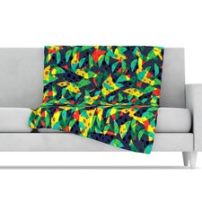 Fruit and Fun Microfiber Fleece Throw Blanket