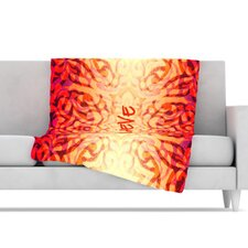 Tattooed Believer Microfiber Fleece Throw Blanket