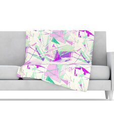 Shatter Microfiber Fleece Throw Blanket