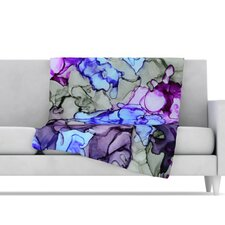 String Theory Microfiber Fleece Throw Blanket