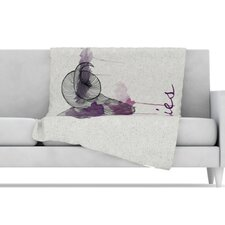 Aries Microfiber Fleece Throw Blanket