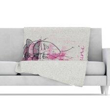 Gemini Microfiber Fleece Throw Blanket