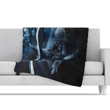 Invictus Microfiber Fleece Throw Blanket