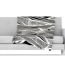 Graphique Microfiber Fleece Throw Blanket
