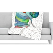 Chameleon Fail Microfiber Fleece Throw Blanket