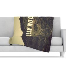 Hollywood Microfiber Fleece Throw Blanket