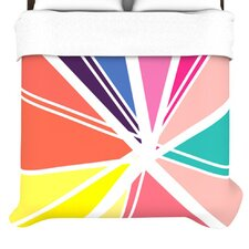 """Boldly Bright"" Woven Comforter Duvet Cover"