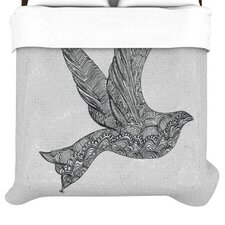 """""""Dove"""" Woven Comforter Duvet Cover"""