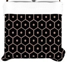 Tiled Mono Duvet Collection