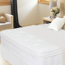 "<strong>Sleep Revolution</strong> 13"" Euro Box Top iCoil Mattress and Steel Foundation Set"