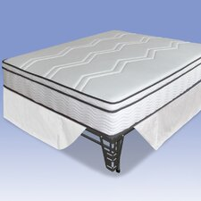 "11"" Memory Foam / Coil Mattress and Steel Foundation Set"