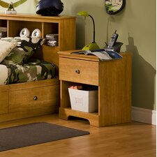 <strong>South Shore</strong> Billy 1 Drawer Nightstand