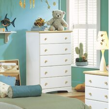 <strong>South Shore</strong> Newbury 5 Drawer Chest