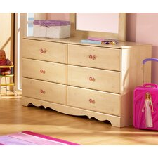 <strong>South Shore</strong> Lily Rose Double Dresser