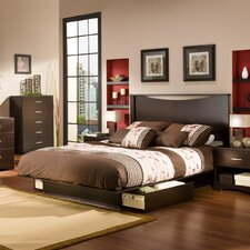 <strong>South Shore</strong> Infinity Platform Bedroom Collection