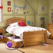 Roslindale Panel Bed with Trundle