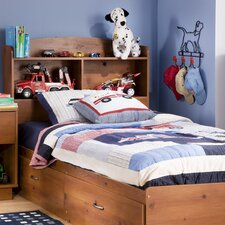 <strong>South Shore</strong> Logik Twin Mates Bookcase Bed