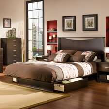 <strong>South Shore</strong> Infinity Queen Storage Platform Bed