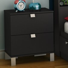 <strong>South Shore</strong> Spark 2 Drawer Nightstand