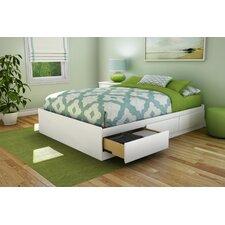 Full Size Storage Platform Bed