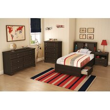 <strong>South Shore</strong> Sebastian Twin Captain Bedroom Collection