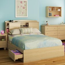 <strong>South Shore</strong> Clever Room Bookcase Headboard