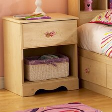 <strong>South Shore</strong> Lily Rose 1 Drawer Nightstand