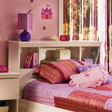 Crystal Twin Bookcase Headboard