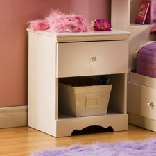 <strong>South Shore</strong> Crystal 1 Drawer Nightstand