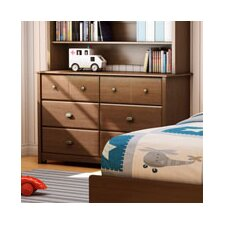 Willow Double 6-Drawer Dresser