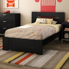 <strong>South Shore</strong> Flexible Distressed Twin Bed