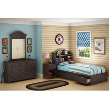 <strong>South Shore</strong> Summer Breeze Chocolate Captain Bedroom Collection