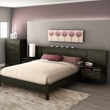 <strong>South Shore</strong> Gravity Queen Platform Bed