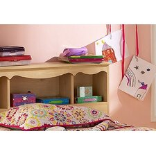 <strong>South Shore</strong> Lily Rose Bookcase Headboard