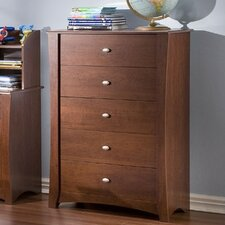 Jumper 5 Drawer 6-Drawer Chest