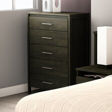 Gravity Collection 5 Drawer Chest
