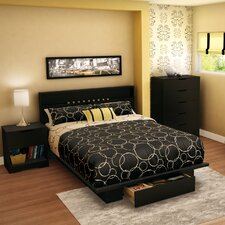 <strong>South Shore</strong> Holland Full/Queen Platform Bedroom Collection