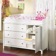<strong>South Shore</strong> Cotton Candy 3 Drawer Changing Table