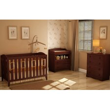 Sweet Morning 2-in-1 Convertible Crib Set