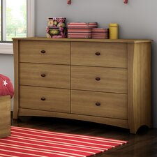 Jumper 6 Drawer Dresser