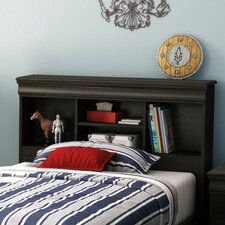 <strong>South Shore</strong> Quilliams Twin Bookcase Storage Headboard