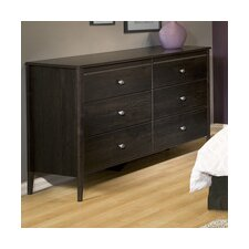 Gazelle 6 Drawer Dresser