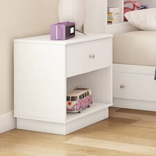 Litchi 1 Drawer Nightstand