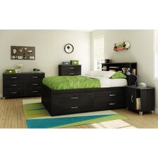<strong>South Shore</strong> Lazer Full Captain Kids Bedroom Collection