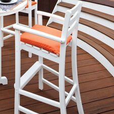 "<strong>Trex Outdoor</strong> Outdoor Monterey Bay 30"" Barstool with Cushion"