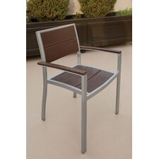<strong>Trex Outdoor</strong> Trex Outdoor Surf City Dining Arm Chair